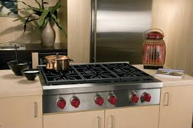 30 Inch 5 Burner Gas Cooktop Kitchen Impressive Wolf 36 Pro Style Gas Rangetop Stainless Steel