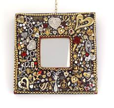 popular items for bling mirror on etsy decorative wall hearts and