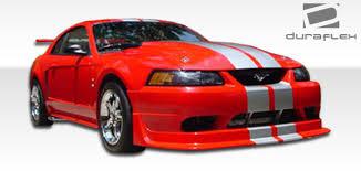 99 mustang bumper 99 04 ford mustang cobra r duraflex front kit bumper