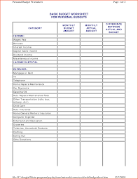 Rental Spreadsheet Template 100 Monthly Spreadsheet Personal Budget Template For Excel