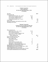 chapter 2 class solutions sec 01 2 36 25 u201330 min income statement
