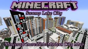 minecraft awesome modern city map