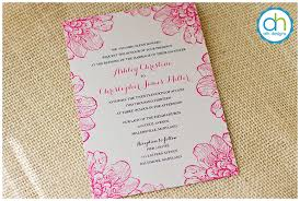 wedding invitations exles introduction to typeface for philadelphia custom wedding