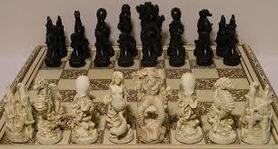 fantasy chess set life chess pieces