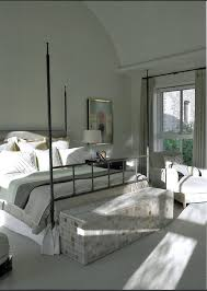 chic iron daybed in living room contemporary with beige carpet