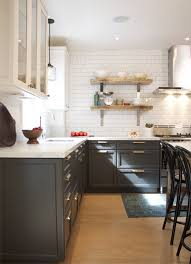 Color Of Kitchen Cabinet Growing Trend Bi Color Kitchen Cabinets Apartment Therapy