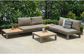 Patio Dining Table Sofas Amazing Outdoor Couch Weathered Teak Furniture Teak Garden
