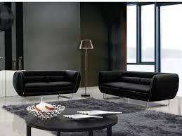 vente unique canapé canapé simili cuir noir sur iziva iziva com