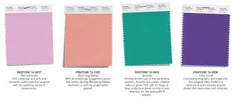 pantone color palettes get inspired with pantone s spring color palette for 2018 i do y all