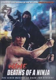 kf 165 vd7579a nine deaths of a ninja movie dvd sho kosugi classic