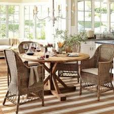 wicker rattan dining chairs foter