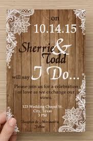 Rustic Wedding Free Rustic Wedding Invitations Templates Ideas U2014 All Invitations