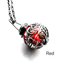 enchantment necklace magical light up glowing led battery