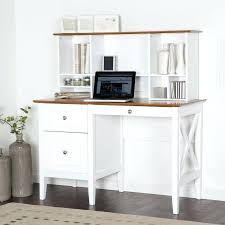 Computer Desk With Filing Cabinet White Desk With File Drawers White Finish Wood Small Office