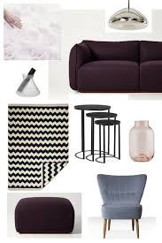 Picture Yourself In A Living Room by An Aubergine And Lilac Living Room Look Plus A Giveaway Worth 229 U2014