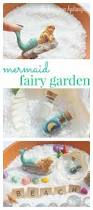 Fairy Garden Craft Ideas - mermaid fairy garden craft for kids the homespun hydrangea