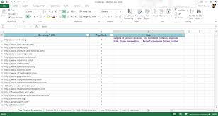 Repair Excel Spreadsheet List Of 10 000 High Pr Website Directories In Excel Sheet 2013