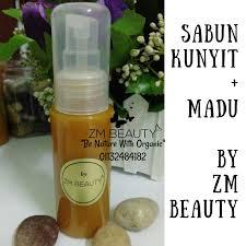 Pembersih Muka Natur E pembersih muka kunyit madu untuk kulit kering zuraini