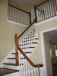 Oak Banister Painting Banisters Black Color And Finish Suggestions