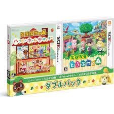 no mori happy home designer u0026 tobidase doubutsu no mori double pack