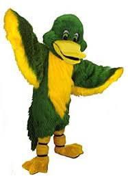 duck costume buy green duck mascot costume mask us t0444 from costume shop