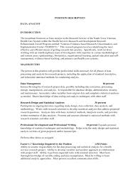 high quality data analyst resume sample from professionals data