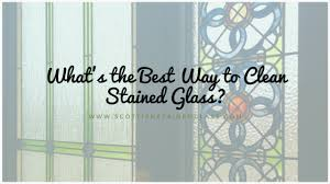 what is the best way to clean stained wood cabinets what s the best way to clean stained glass