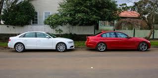 bmw 3 vs audi a4 luxury sedan comparison one audi a4 v bmw 3 series