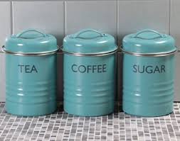 lime green kitchen canisters kitchen tea coffee sugar canister set blue vintage style kitchen