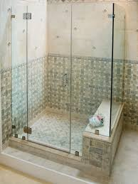 frameless shower doors attribute to boost your small bathroom