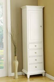 Bathroom Tower Cabinet Sophisticated Bathroom Linen Cabinets Storage Tower On Cabinet