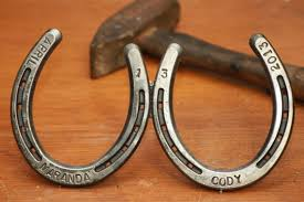 personalized horseshoes personalized horseshoe custom ooak free shipping hooves