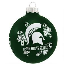 46 best sports ornaments images on michigan state