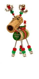 wilson creek winery winedeer cork ornament crafts card