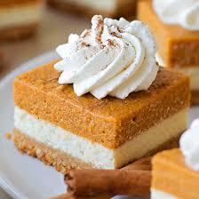 layered pumpkin pie cheesecake bars made simple