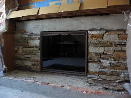 natural stone veneer fireplace refacing build with stone youtube
