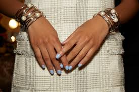 best nail polish trends looks swatches 2017 2018 nyfw spring