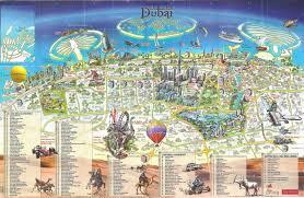 world map city in dubai large detailed tourist map of dubai city dubai uae united