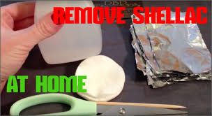how to remove shellac nails safely at home with foil u0026 cotton wool