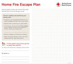 home fire evacuation plan sample homes zone