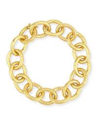 chain link bracelet gold images Gold link bracelet neiman marcus jpg