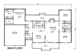 country ranch house plans house plan 96516 at familyhomeplans com