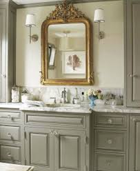 love the cabinet color the mirror maison luxe