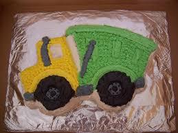 minecraft dump truck garbage truck for 2nd birthday used wilton dump truck cake pan