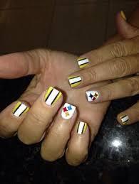 steelers nail art showmethemani barbara ann u0027s art emporium