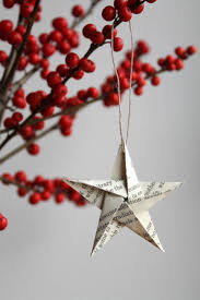 10 easy pieces handmade holiday ornaments paper stars