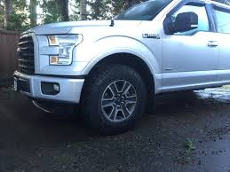 33 inch tires with no biggest tire size for lariat sport 4x4 no lift ford f150 forum