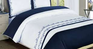 White Bedding Bedding Set Beautiful Blue White Bedding Details About Beautiful