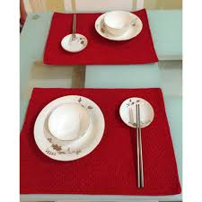 Green Decorations For Home Aliexpress Com Buy Fashion Christmas Placemat For Dining Table