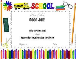 kindergarten certificates template kindergarten graduation certificate template